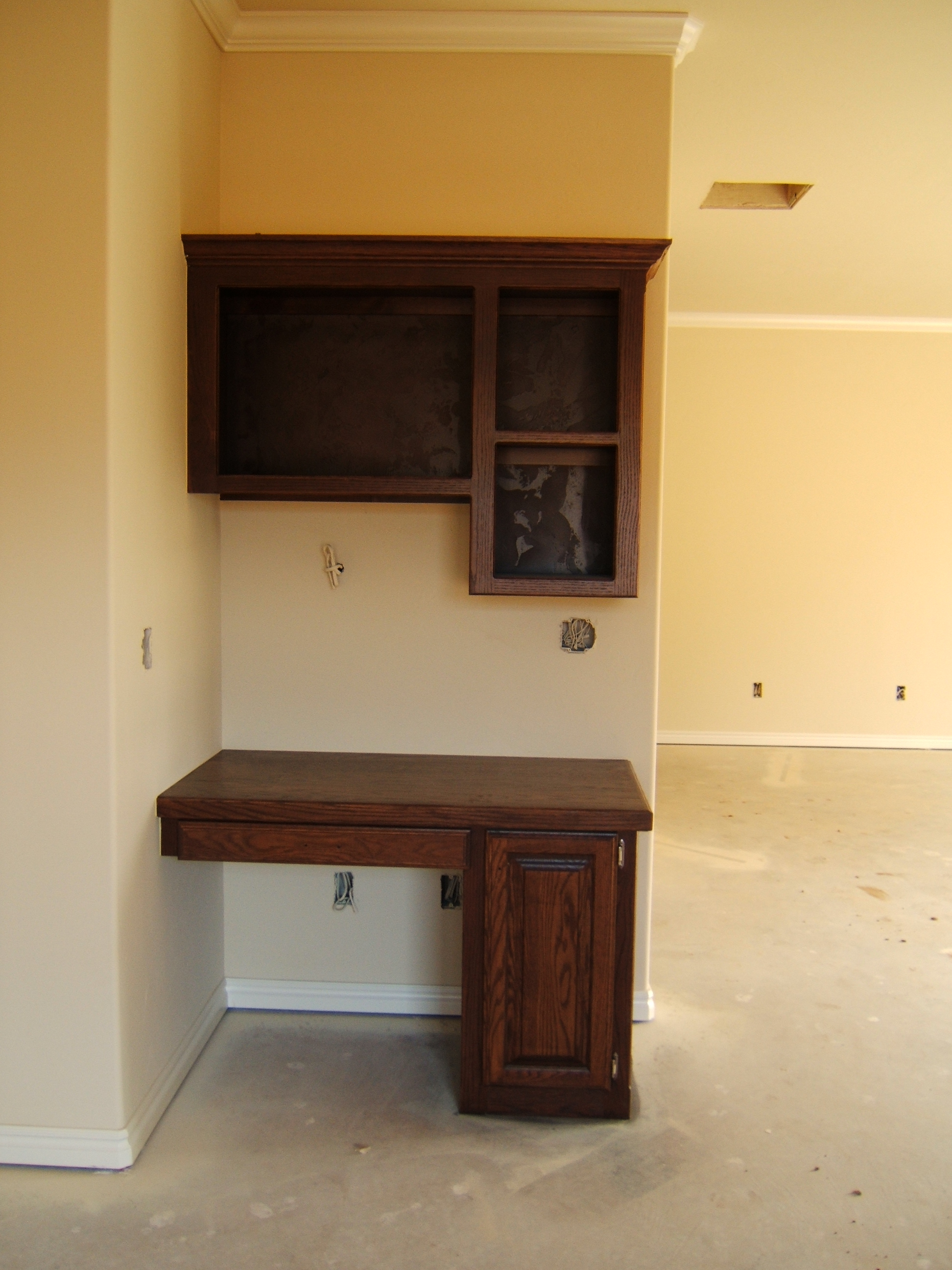Spacious master suite with recessed ceiling and crown for Recessed area